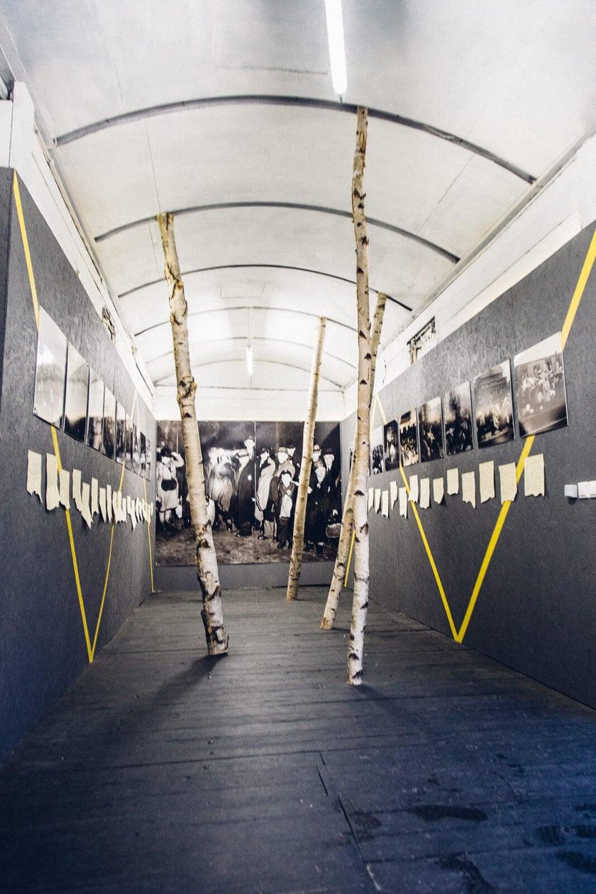 Train Car at The Latvian Holocaust Museum in Riga