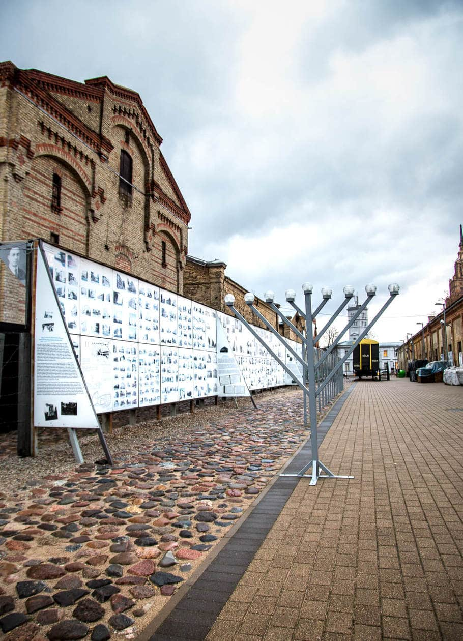 The Latvian Holocaust Museum in Riga
