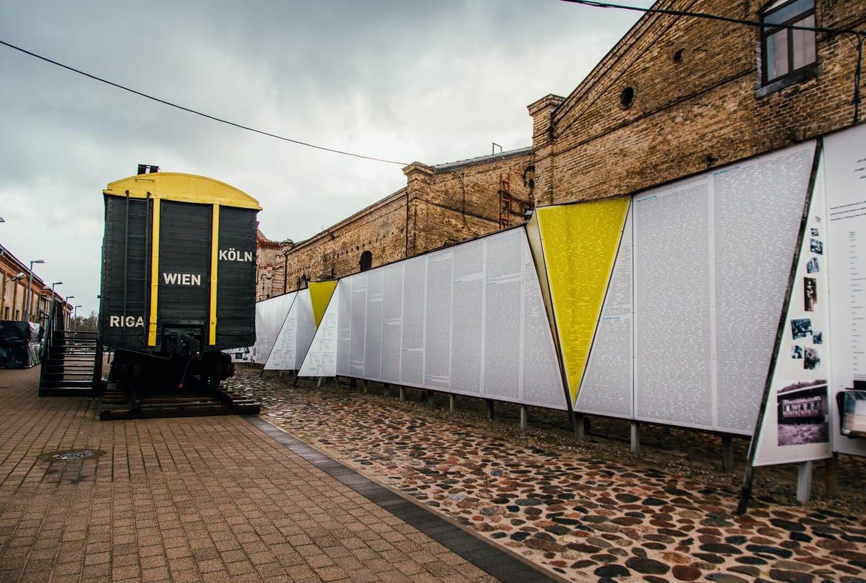 The Latvian Holocaust Museum in Riga