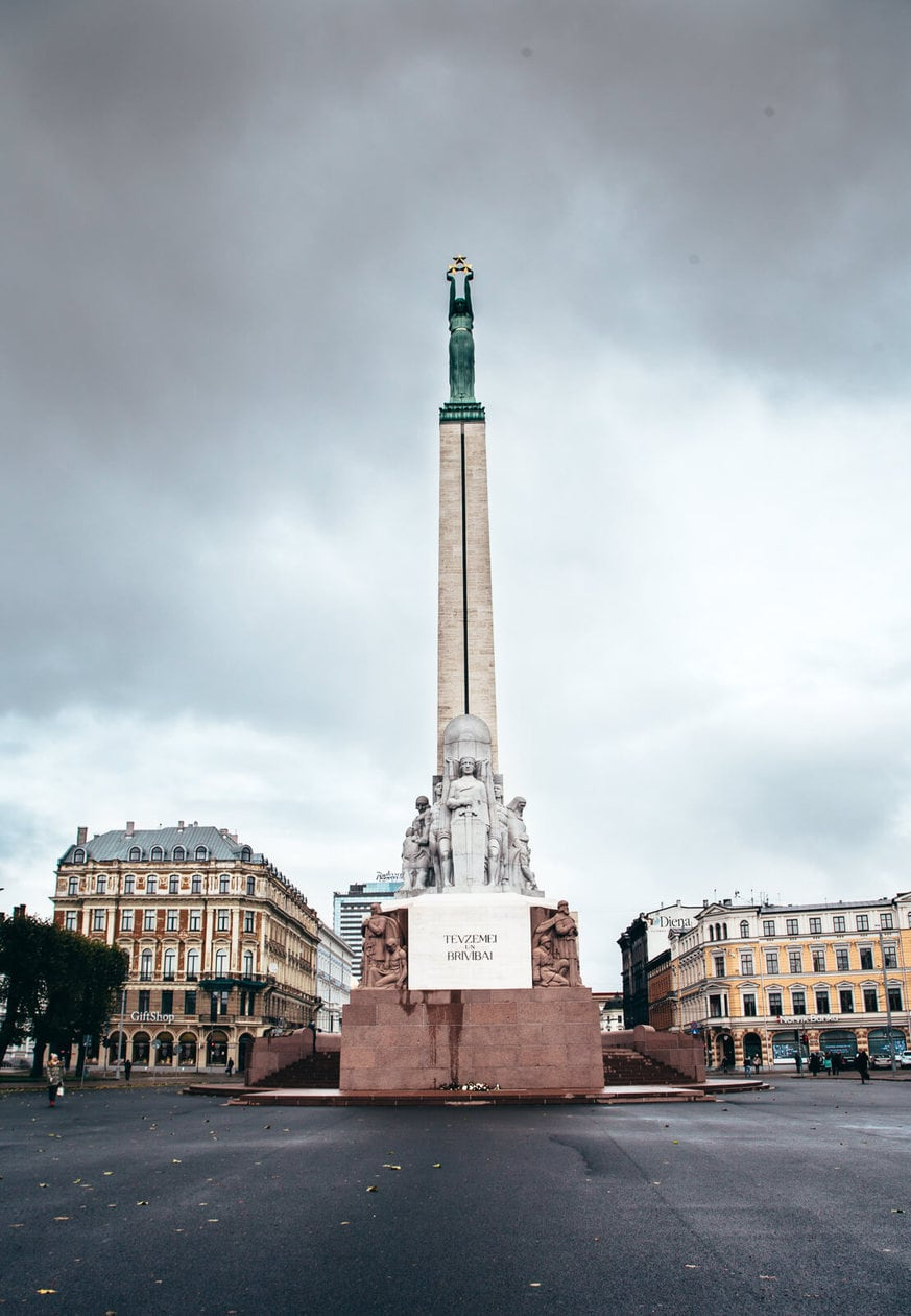 What to do in Riga // Freedom Monument