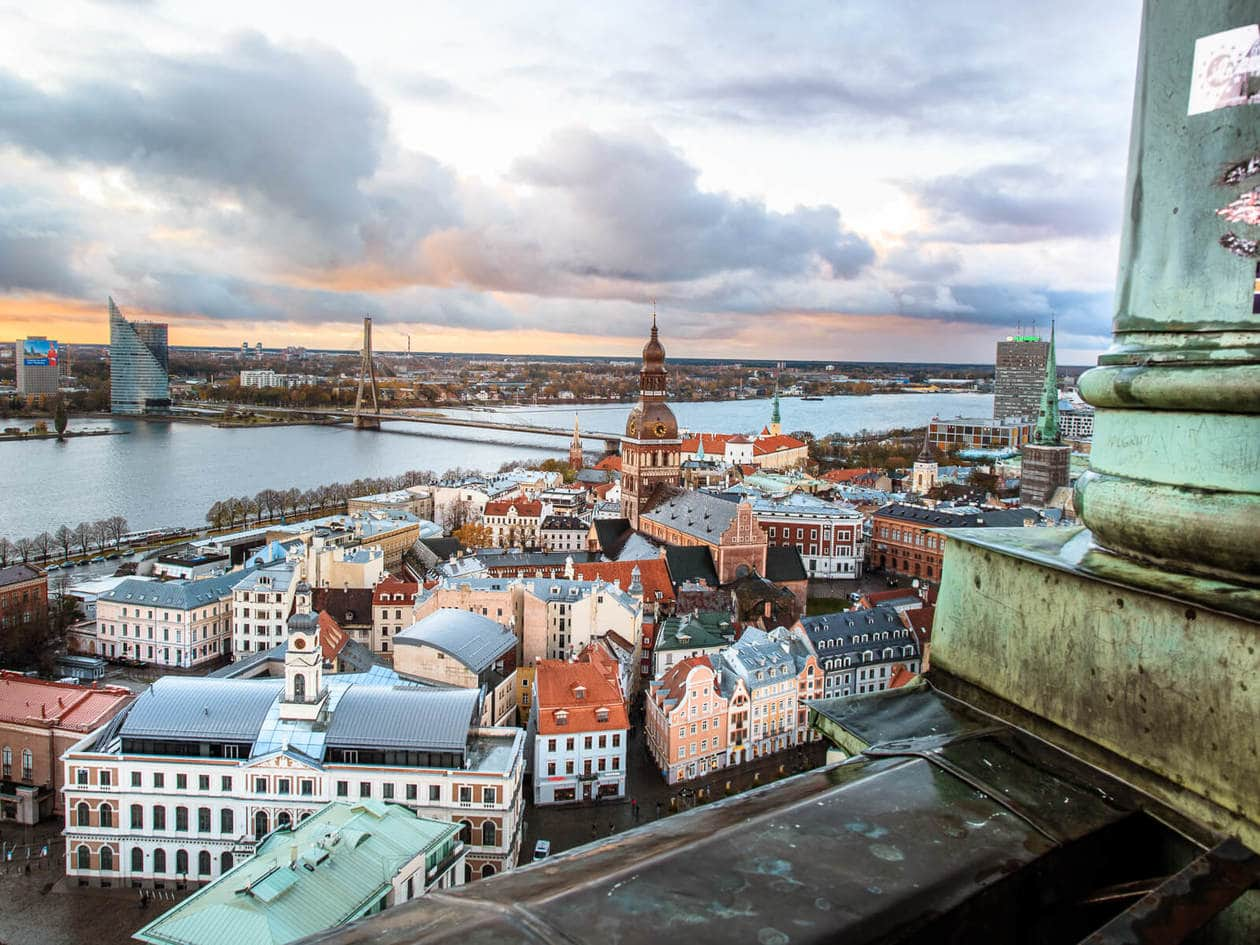 St. Peter's Church Riga // The Best Vantage Point of the City