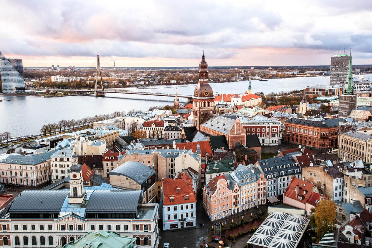 St. Peter's Church Riga: The Best Panoramic View of the City •