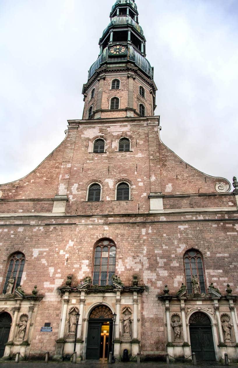 St. Peter's Church Riga: A 360 Degree View