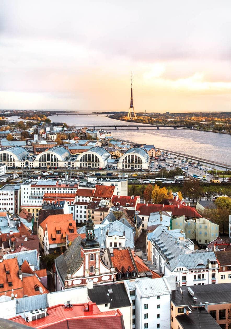 St. Peter's Church Riga : A 360 Degree View