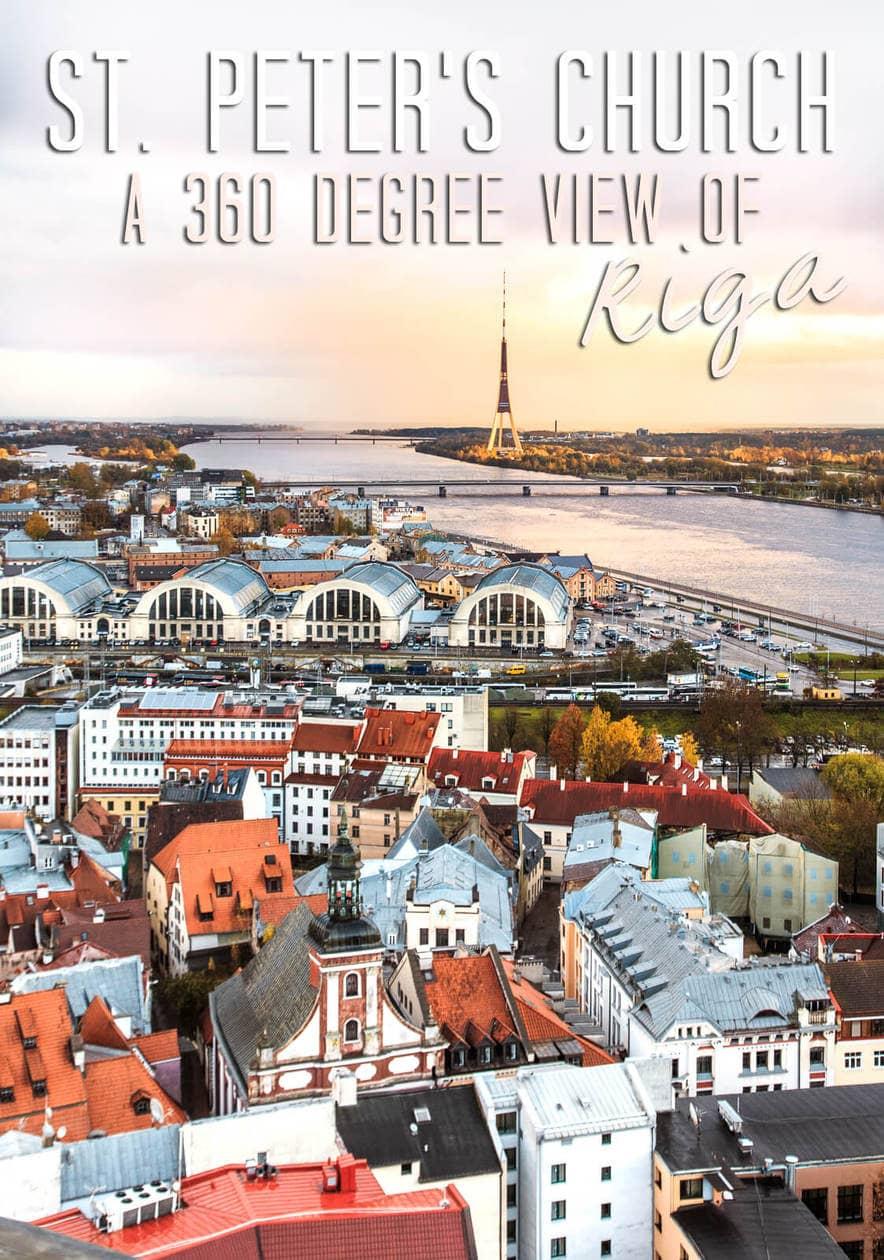 St. Peter's Church Riga // A 360 Degree View