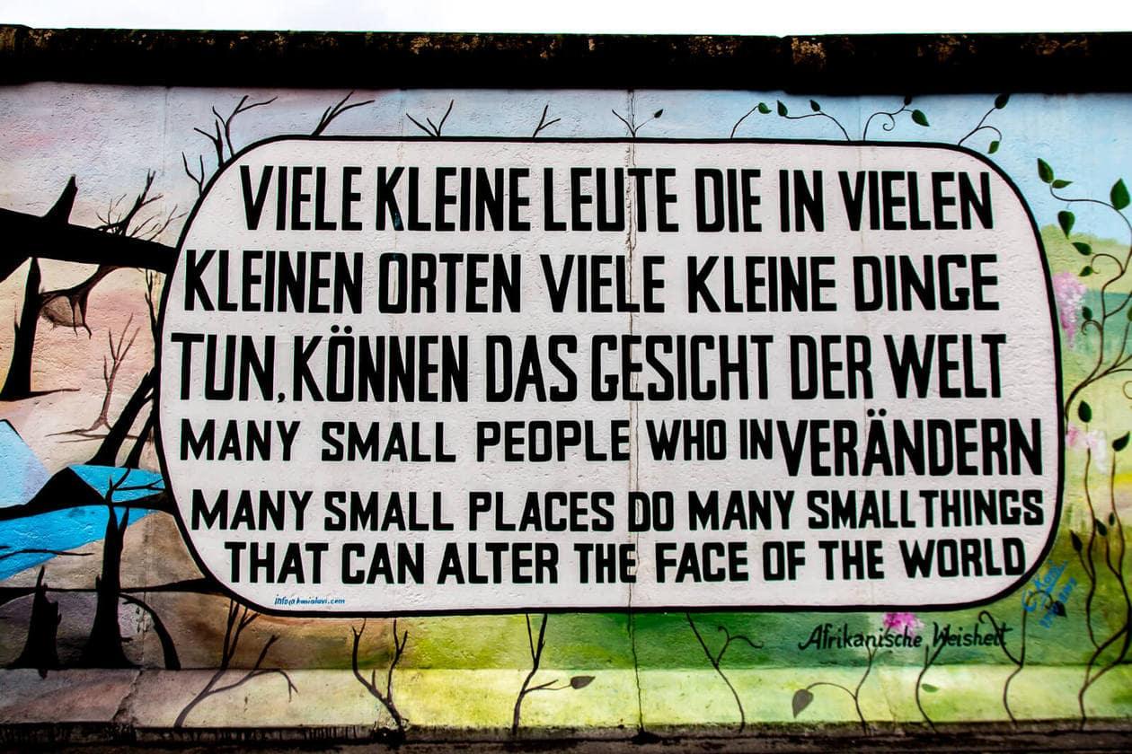 The Berlin Wall - East Side Gallery