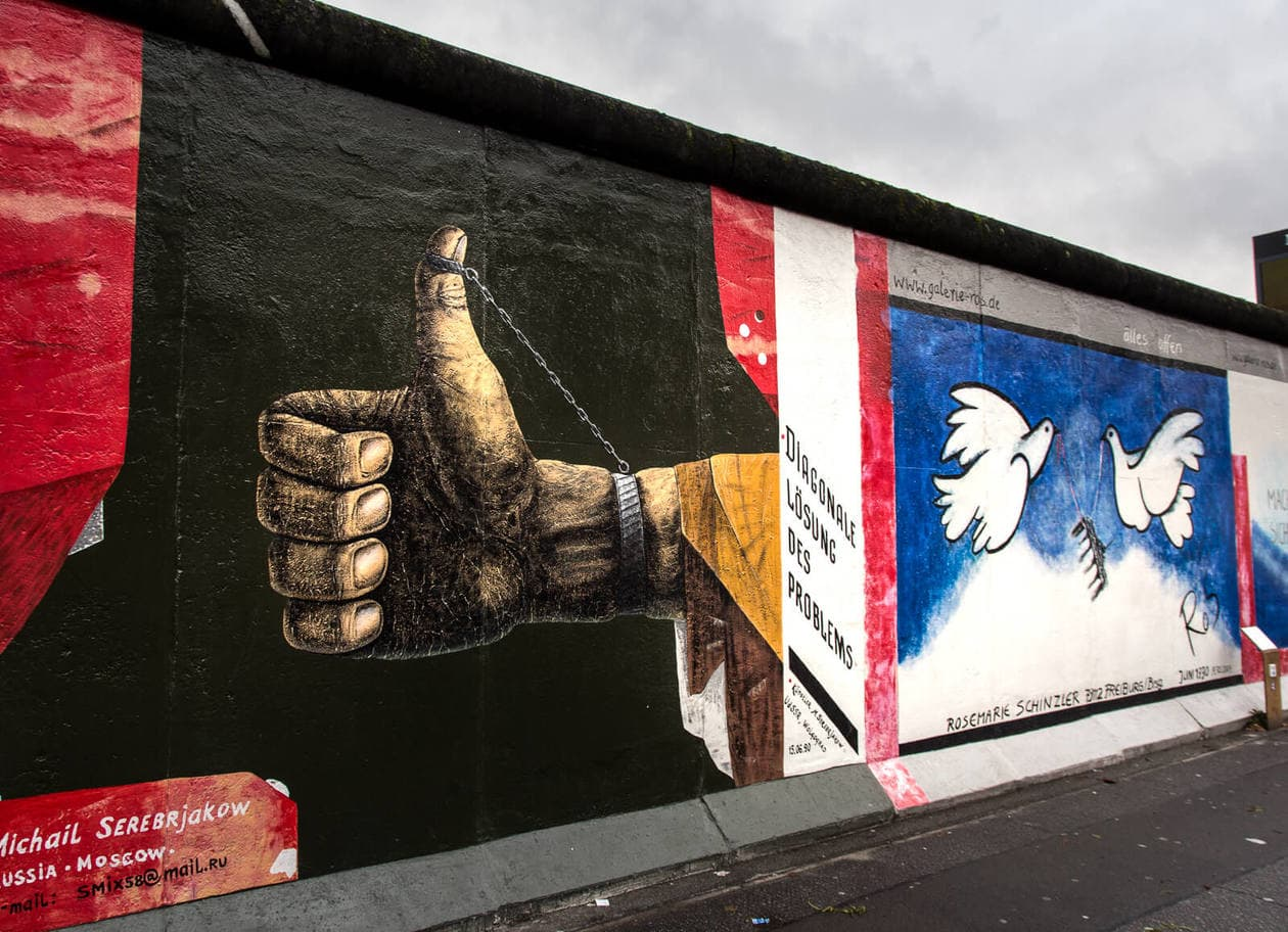 East Side Gallery // A Beginner's Guide to the Berlin Wall ...