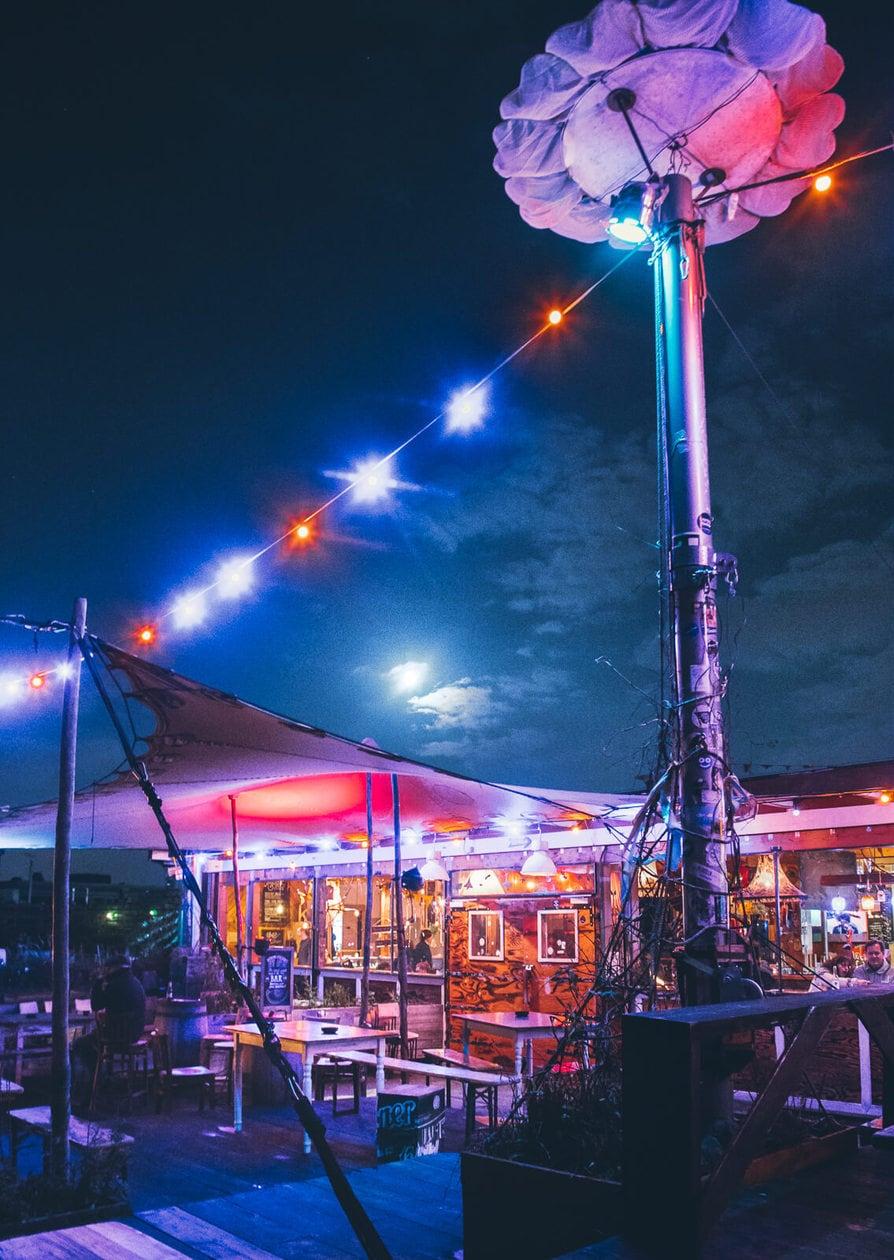 Klunkerkranich // Berlin's Coolest Rooftop Bar
