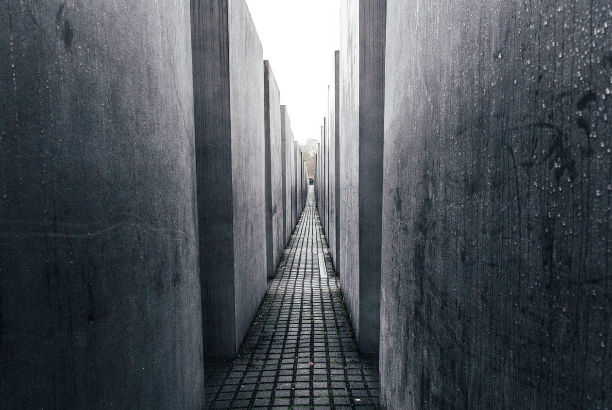 Memorial to the Murdered Jews // WWII Sites in Berlin