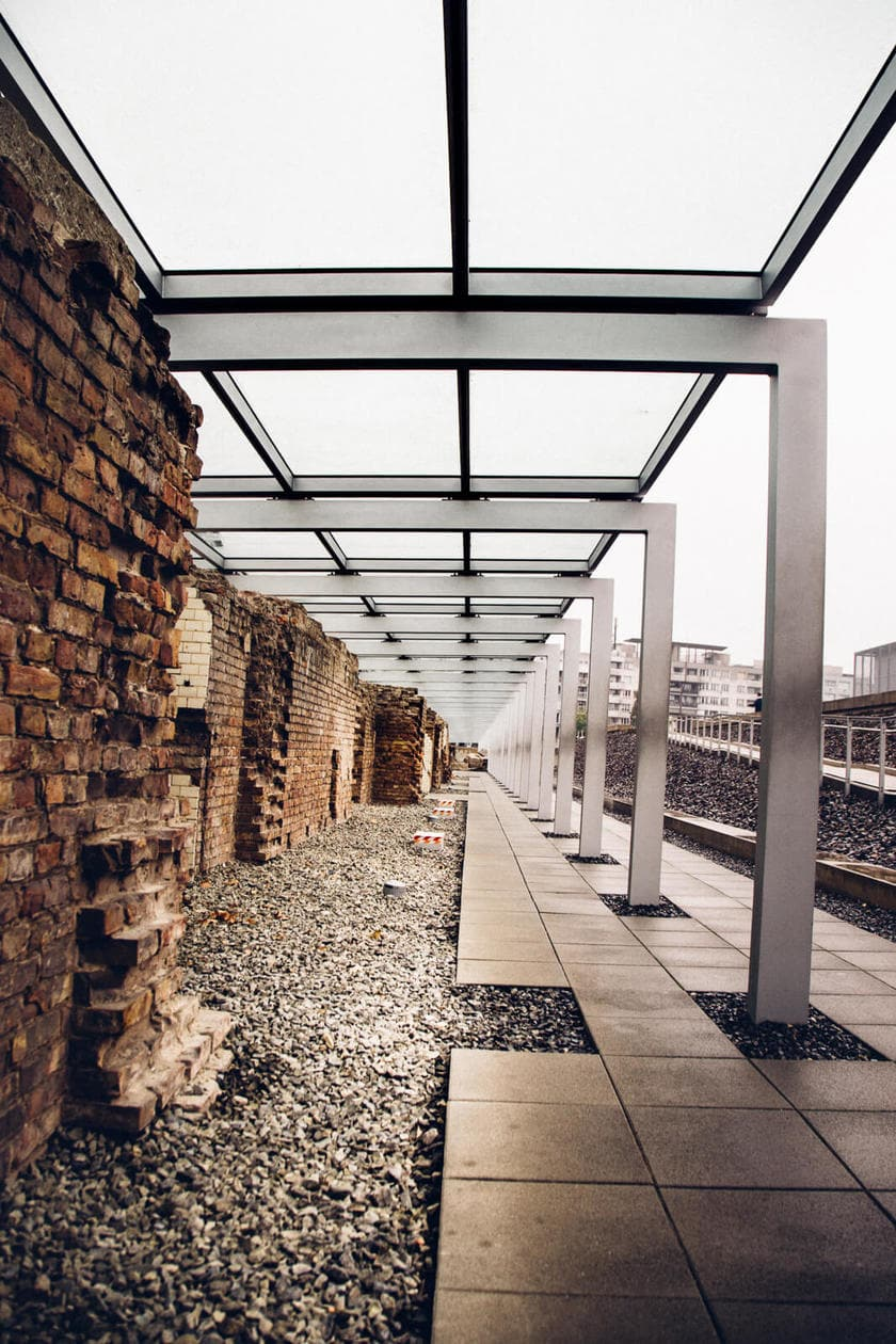 The Topography of Terror // Building Remains