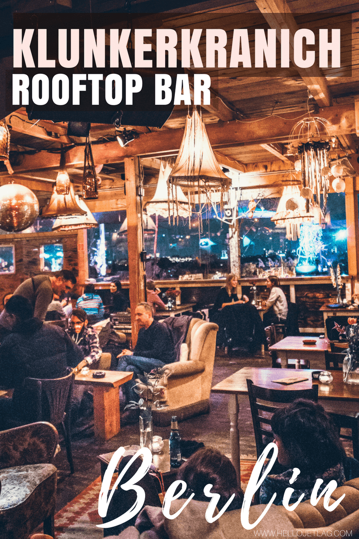Klunkerkranich // This Rooftop Bar in Berlin is Located on Top of a Shopping Mall
