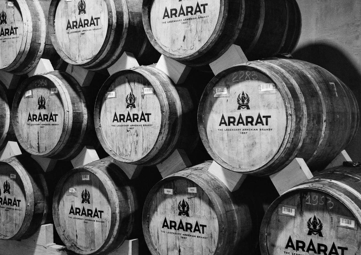 Touring the Ararat Brandy Factory in Yerevan, Armenia - One of the top things to do in Yerevan. Keep reading for what to expect on the tour and information about tasting Armenian brandy.