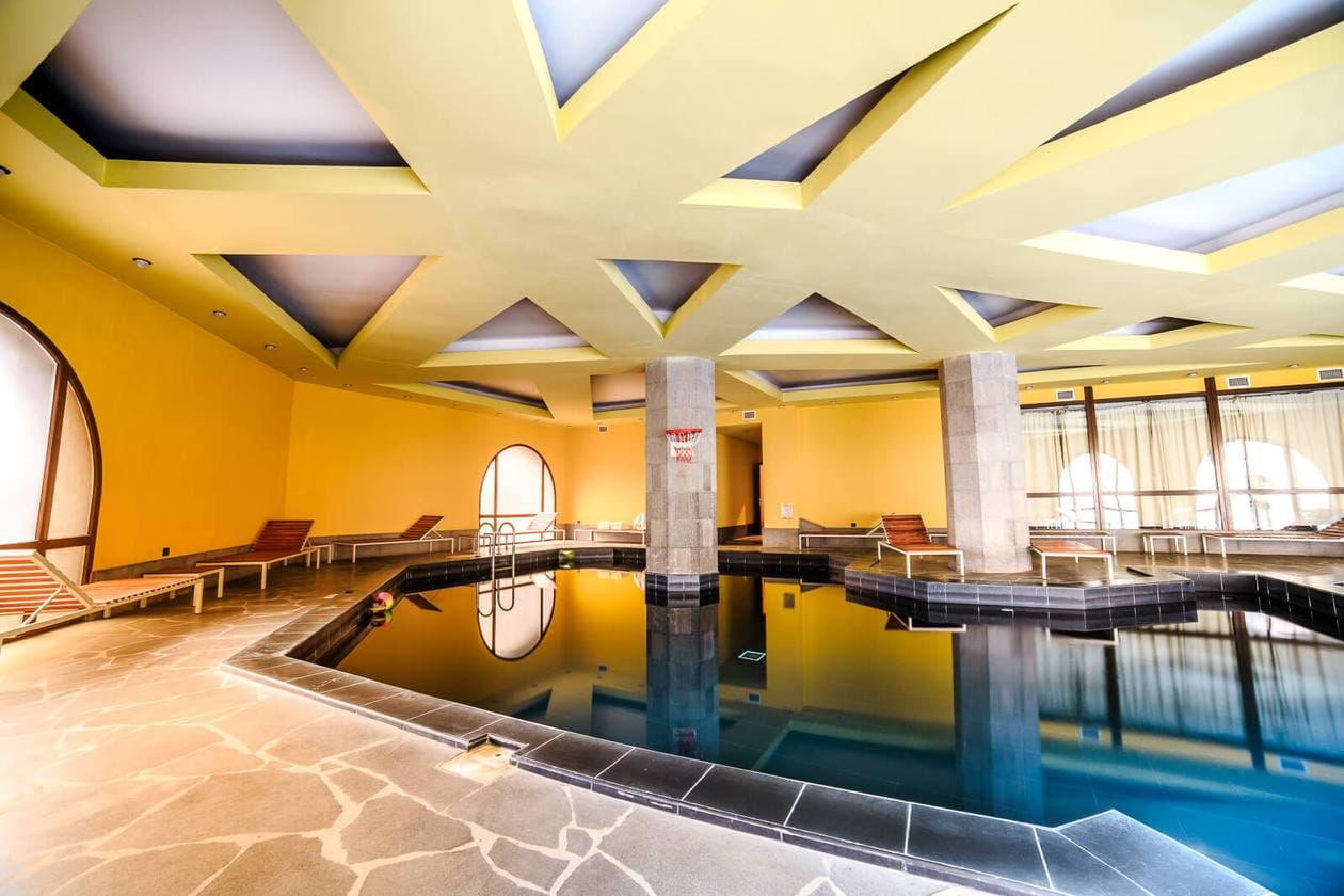 Avan Dzoraget Hotel Pool // A Peaceful Retreat in Armenia's Lori Province