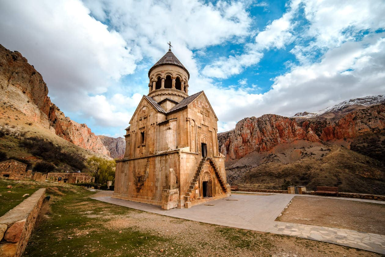 Noravank Monastery // A Must Visit Religious and Historical Monastery Complex situated on a cliff within a gorge created by the Amagu River. Noravank Monastery is located in Southern Armenia near Areni (on the way to Jermuk).