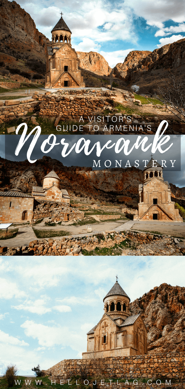 A visitor's guide to Noravank Monastery // A must visit religious and historical Armenian monastery complex situated on a cliff within a gorge created by the Amagu River. Noravank Monastery is located in Southern Armenia near Areni (on the way to Jermuk).