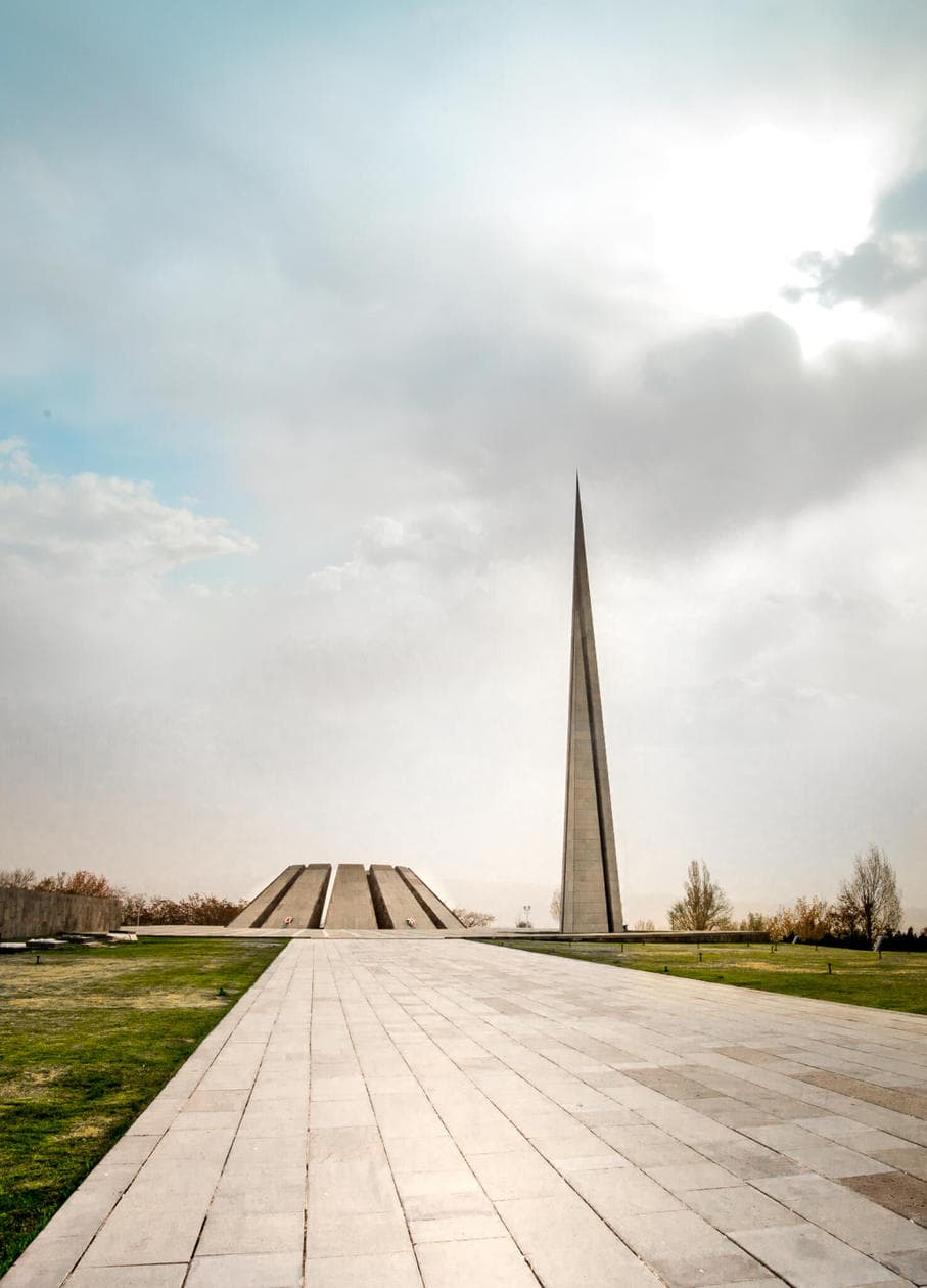 During WWI, 1.5 million Armenians were killed at the hands of the Ottoman Turks. Tsitsernakaberd is the official Armenian Genocide memorial of Armenia, and one of the most important things to do in Yerevan. Keep reading for a brief history of the Armenian Genocide, photos of the memorial, and what to expect when you visit Tsitsernakaberd.