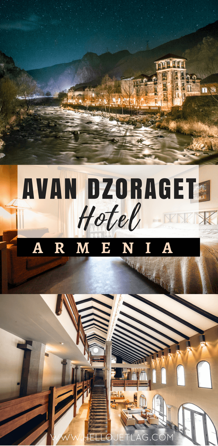 Avan Dzoraget Hotel in Northern Armenia // A peaceful overnight trip from Yerevan to explore Armenia's Lori Province.