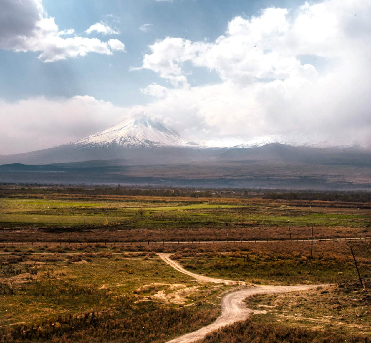Mt. Ararat from Khor Virap Monastery // The Ultimate Armenia Travel Guide: Discover where to go and what to eat, plus the best time to visit, travel tips and more.