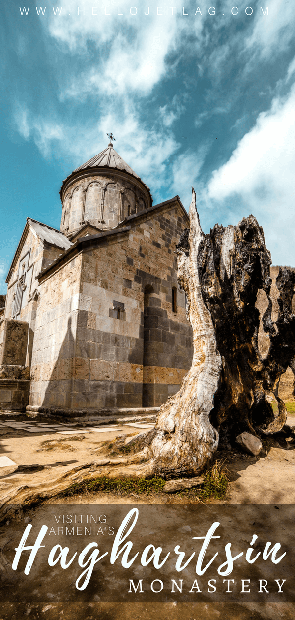 Haghartsin Monastery is one of top things to do in Armenia. Located in the Tavush region, near Dilijan, Haghartsin is a popular (and easy) day trip from Yerevan. Keep reading to see more photos, read about the history of the monastery and discover the best time of the year to visit.