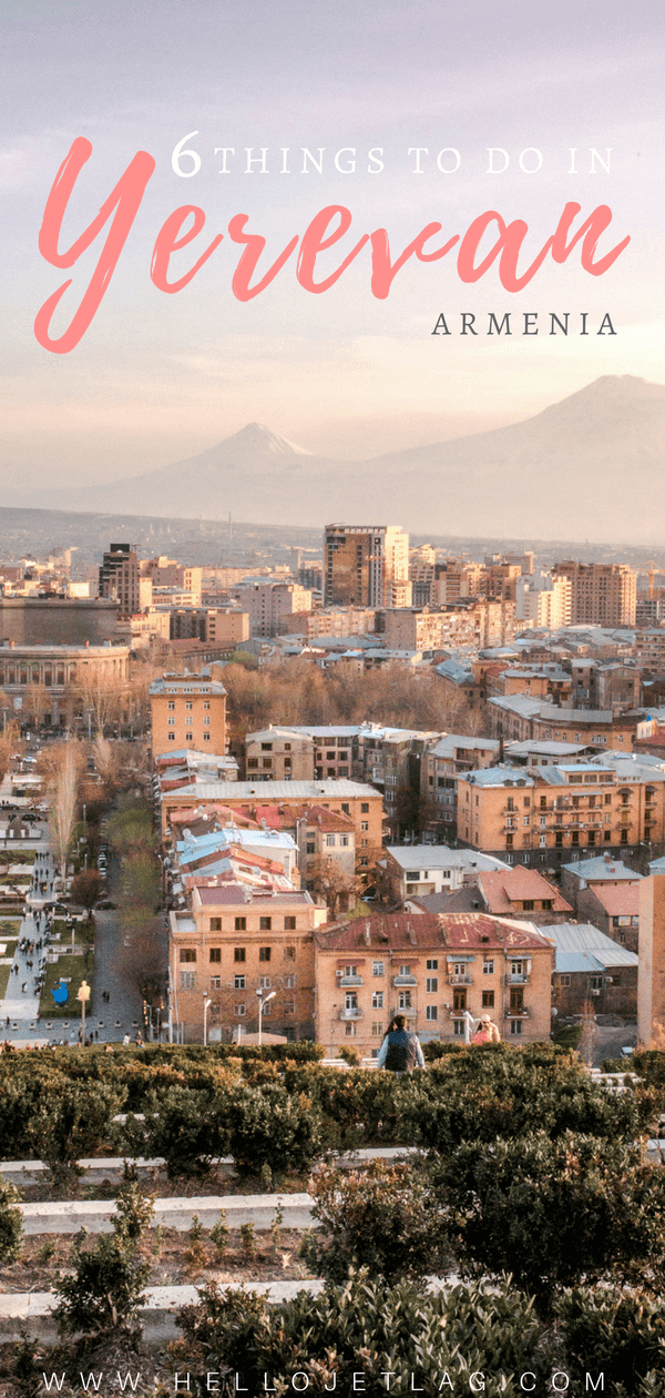 Where to try Armenia's legendary brandy, find the best deals on locals souvenirs and discover the best view of the The Pink City (best seen during sunset!). Keep reading for a list of the top things to do in Yerevan, plus 5 hotels to fit any budget.