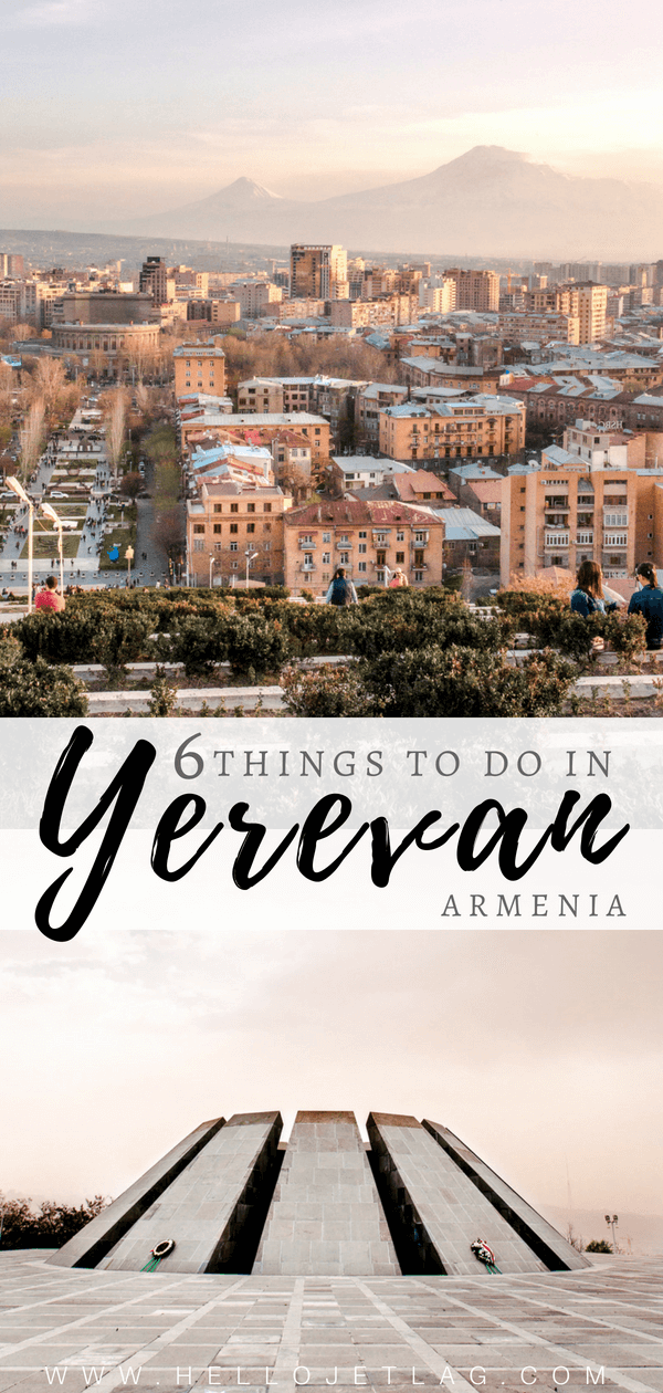 Where to try Armenia's legendary brandy, find the best deals on locals souvenirs and discover the best view of the The Pink City (best seen during sunset!). Keep reading for a list of the top Things to do in Yerevan , plus 5 hotels to fit any budget.