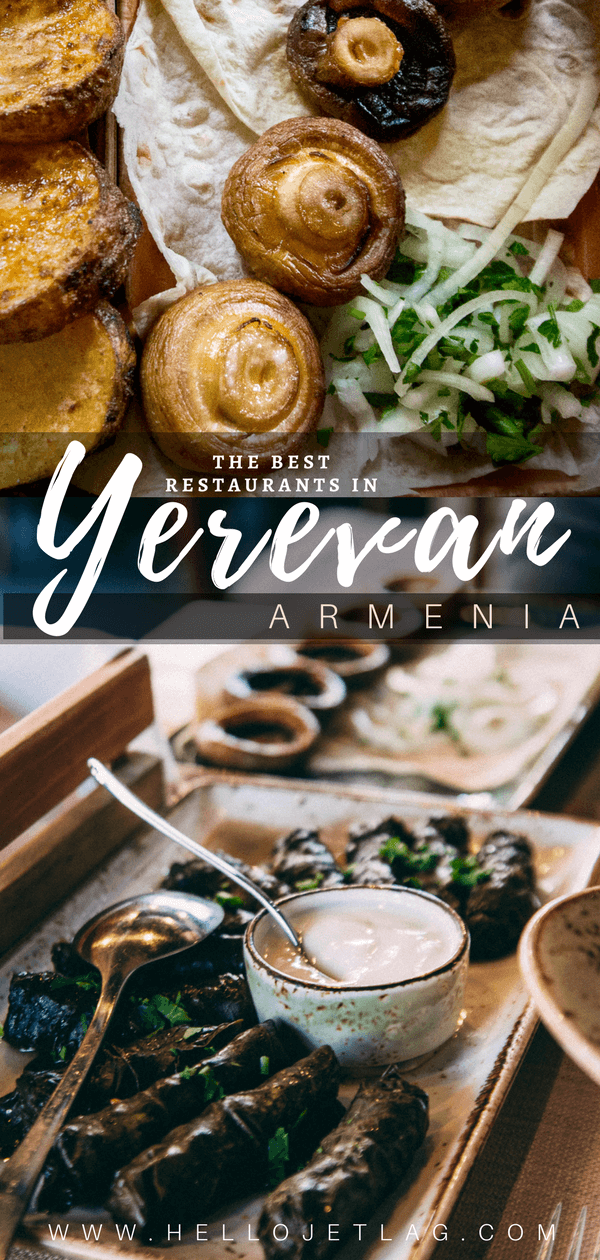 A list of the top Yerevan restaurants and bars to try in Armenia (recommended by locals!). Choose from traditional Armenian restaurants to french style cafes. Plus discover the best wine bars in Yerevan to taste local Armenian wine.