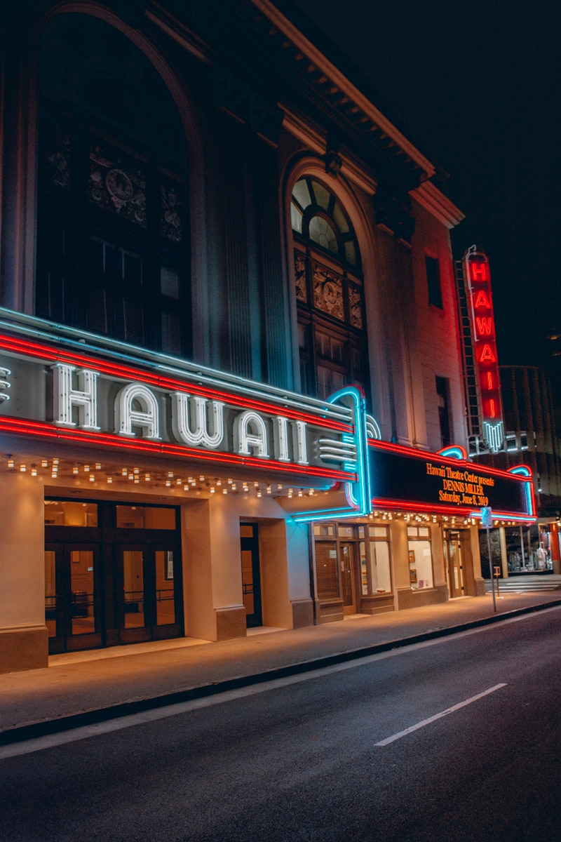 Hawaii Theater Chinatown Oahu