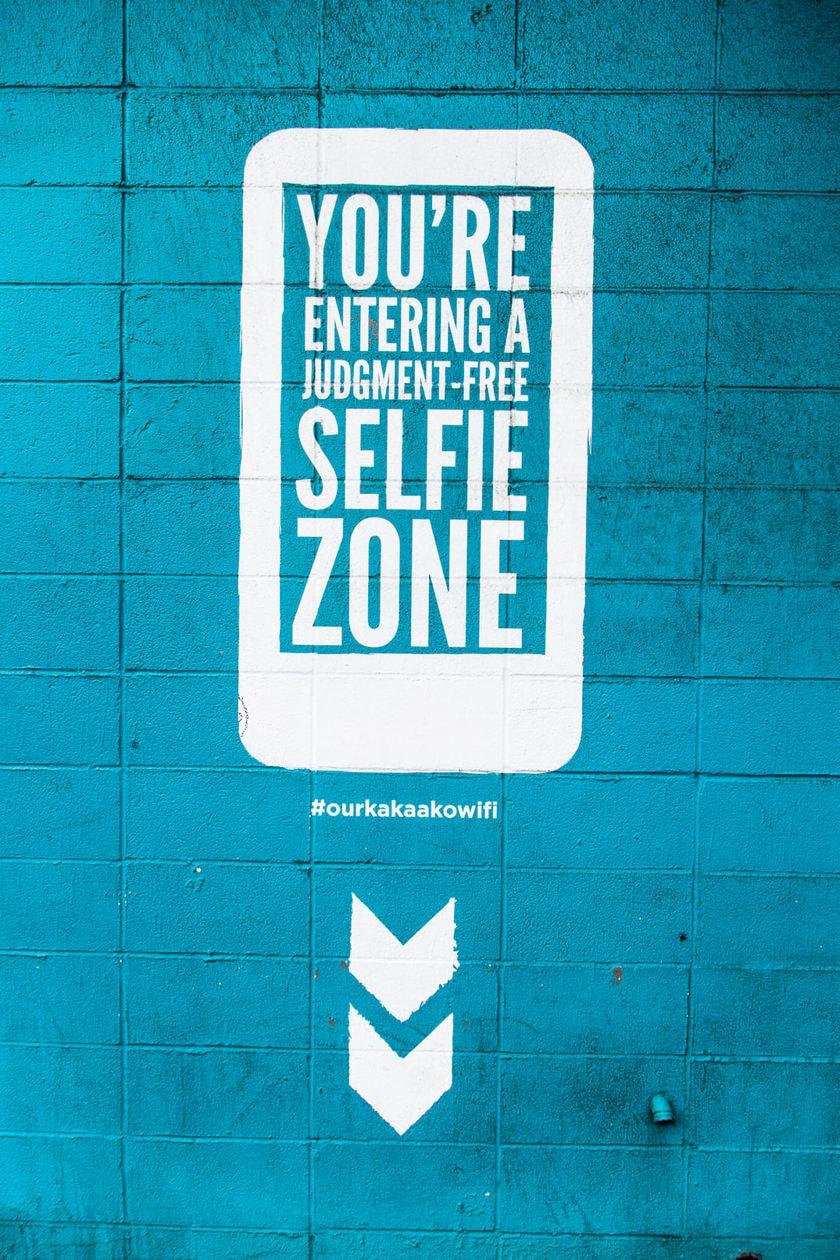 Selfie Zone Oahu