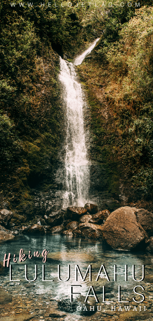 A less polished, more fun version of Manoa Falls, Lulumahu Falls is a short waterfall hike through the Pali region of Oahu, Hawai. Keep reading for photos, tips for visiting, how to find it and more.