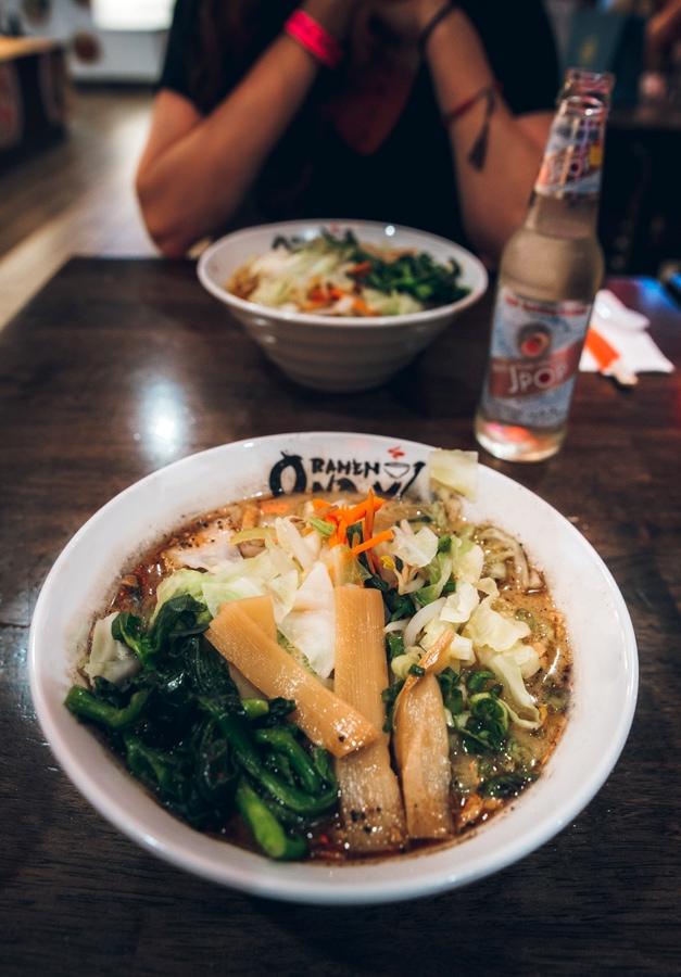 Ramen at Shirokiya Japan Village // Best Places to Eat in Oahu