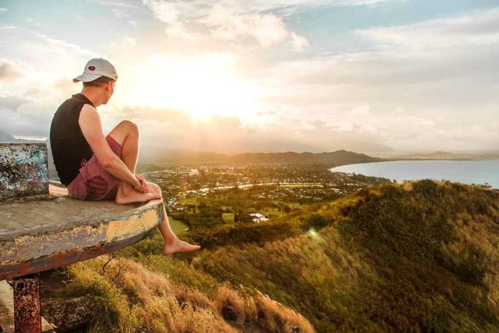 Lanikai Pillbox Hike, Oahu