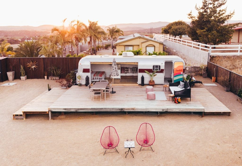 Arre Lulu Baja : The Cutest Airbnb in Mexico's Valle de Guadalupe