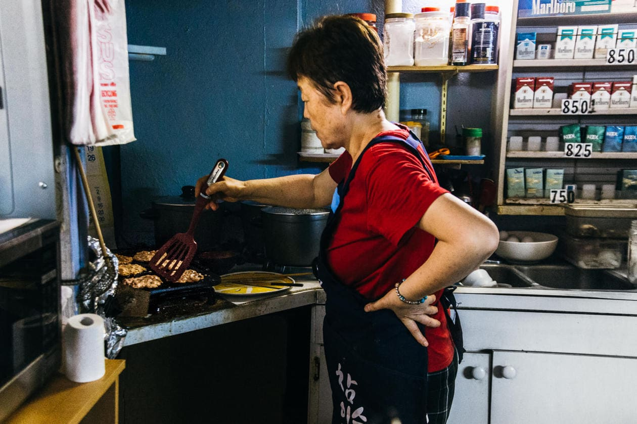 Visit this unique hole in the wall restaurant for some of the best cheap eats in Honolulu. With an eclectic storefront, $5 dishes entrees and kimchee pancakes to die for, Sidewalk Deli is a must try restaurant for homemade, delicious food in Chinatown.