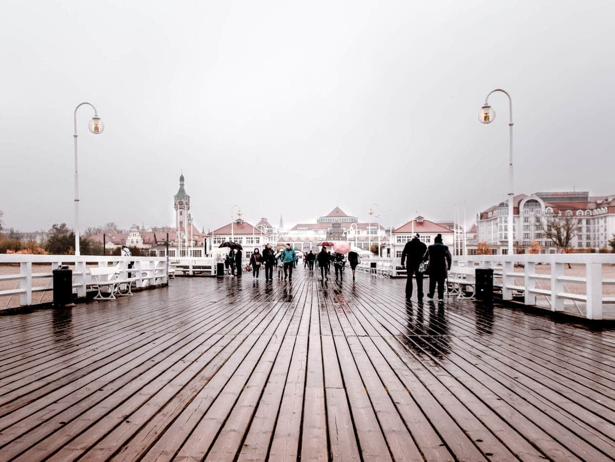 Sopot is a popular seaside resort town in Northern Poland famous for it's healing spas, white sand beaches and prominent party scene. It's a quick and easy day trip from Gdansk or Gdynia. Keep reading for things to do, tips for visiting, how to get there, and where to stay.