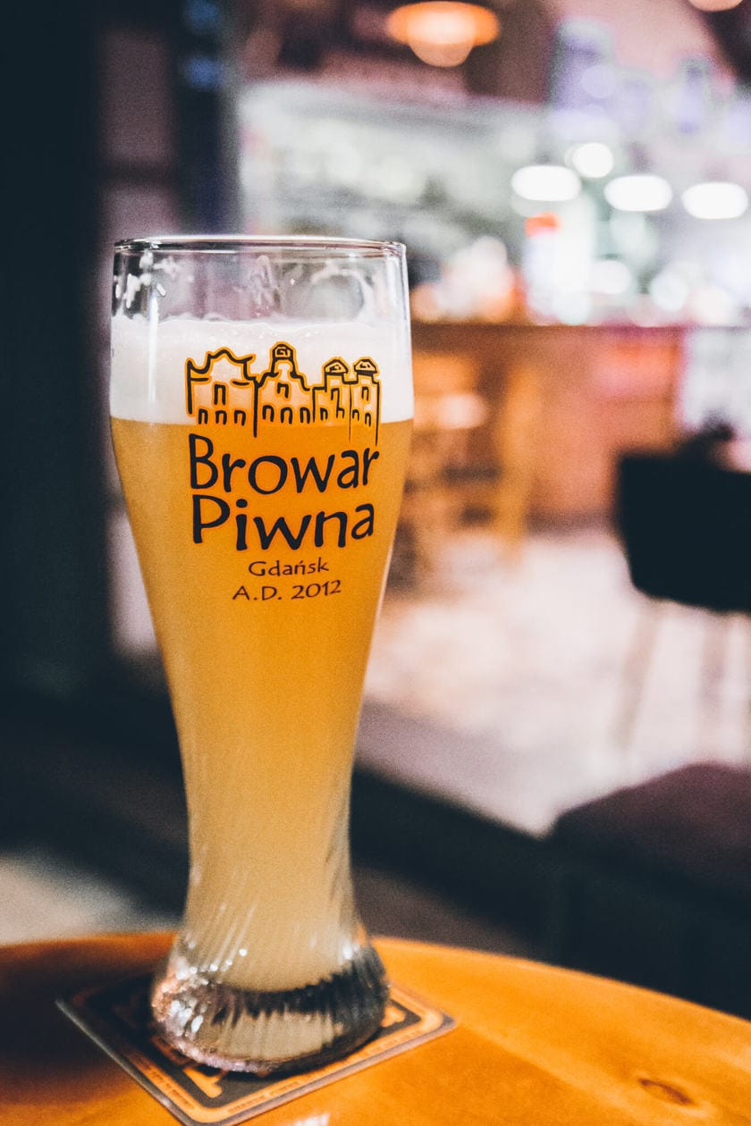 Browar Piwna // Everything you need to know to spend a weekend in Old Town Gdansk. Discover what to do, where to stay, which bars to visit, plus tips for visiting and tons of Gdansk photography to inspire your trip. Click to discover Poland's Pearl of the North.