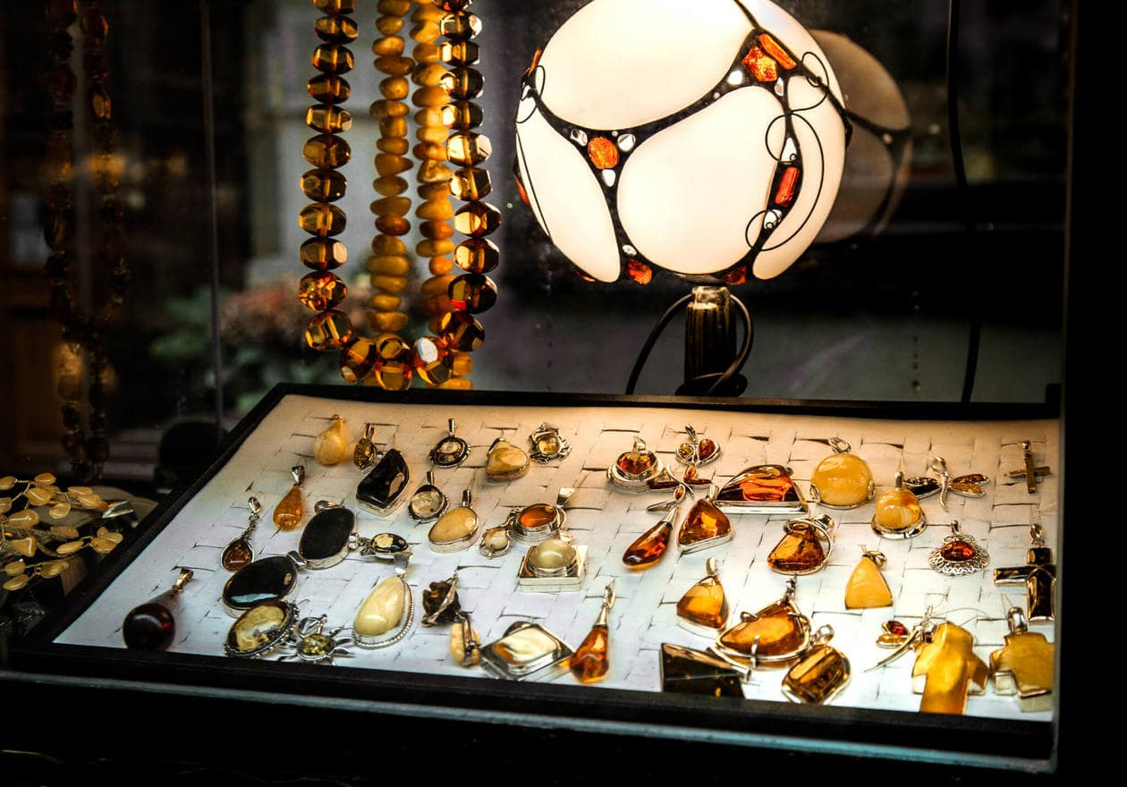 Gdansk Amber Souvenirs