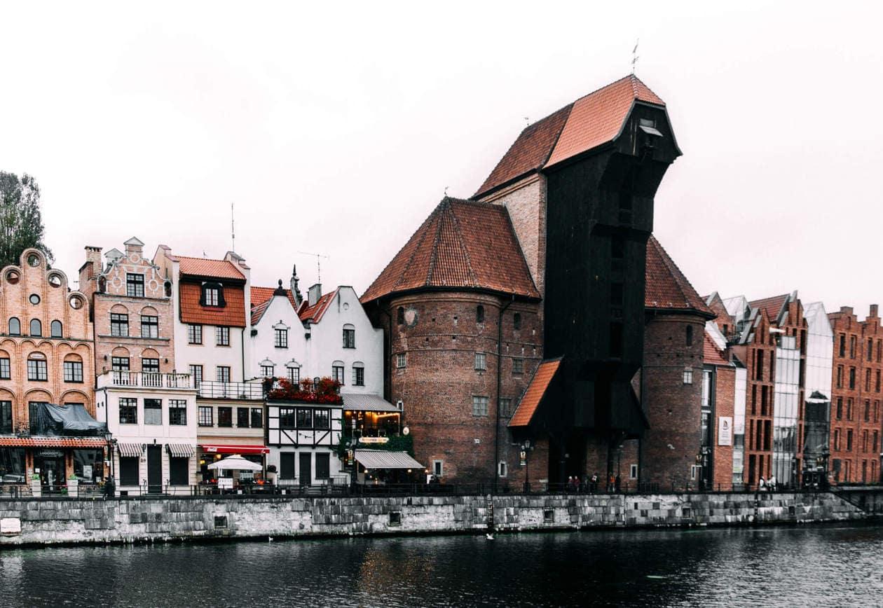 Gdansk Medieval Crane