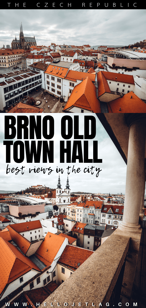 THE BRNO OLD TOWN HALL
