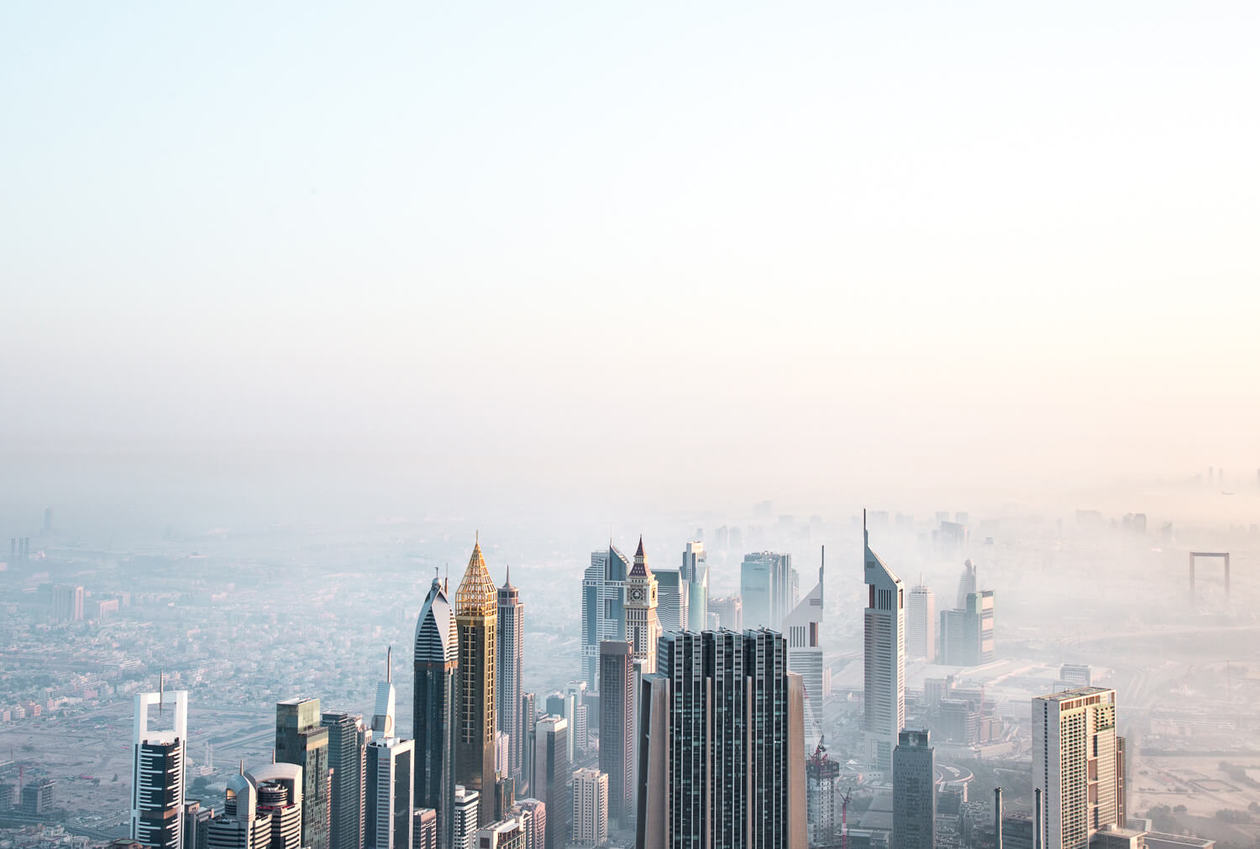 Views from the Burj Khalifa // A list of the top 10 things to do and places to visit in Dubai. From rooftop bars, to beaches, plus where to find the best views and more.