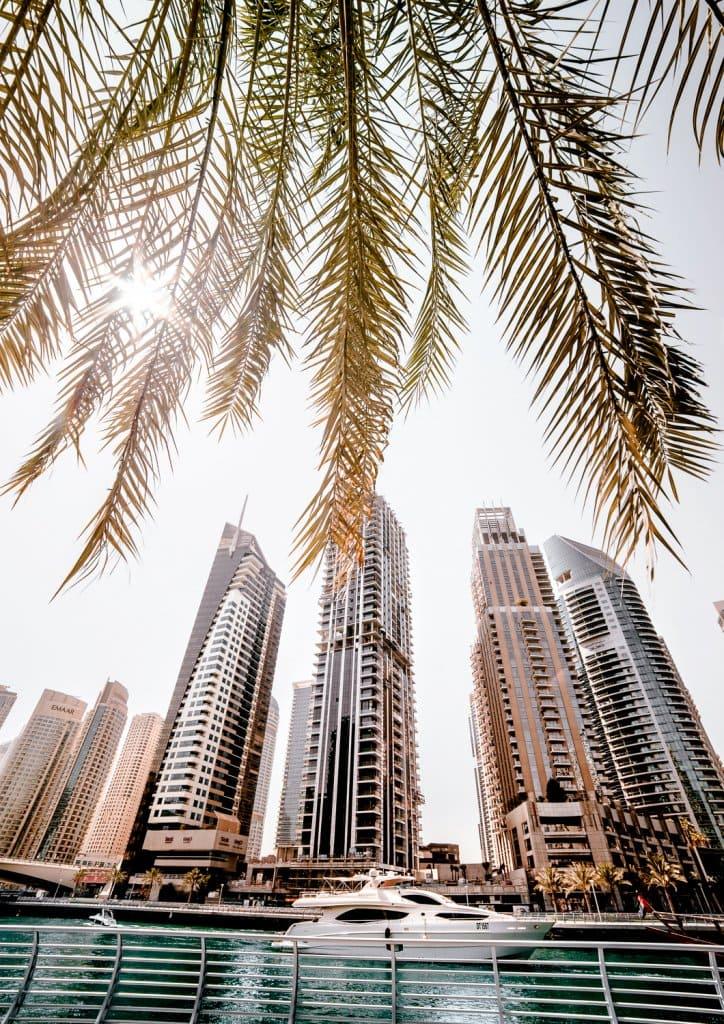 The Dubai Marina