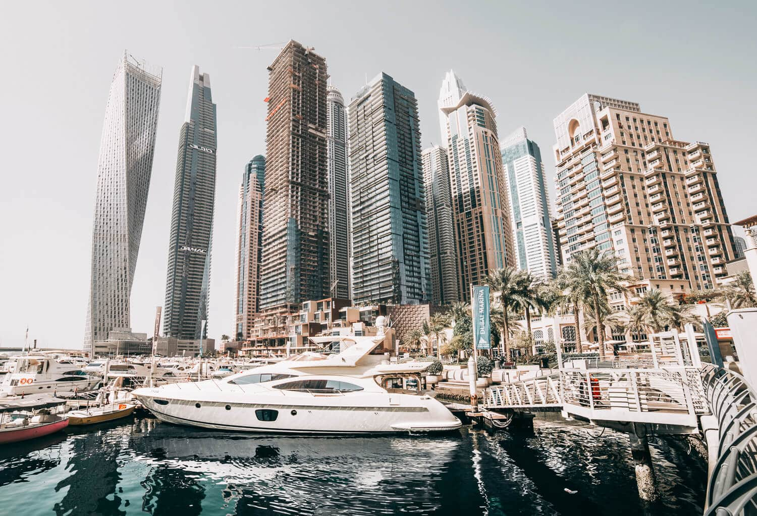 The Dubai Marina // The Ultimate Dubai Travel Guide // Everything you need to know for a visit to the United Arab Emirates including transportation tips, things to do, what to wear, photography and more!