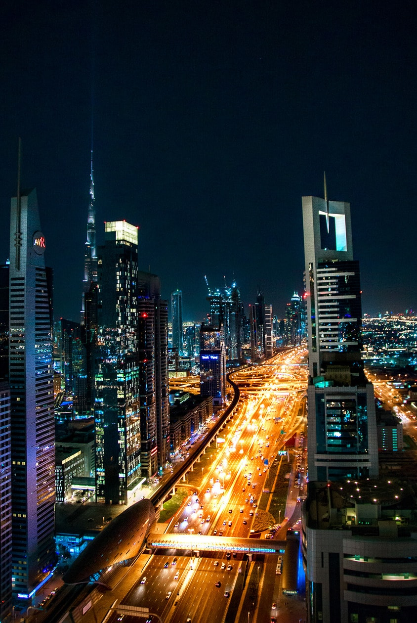 Level 43 Sky Lounge in the Four Points by Sheraton Hotel, Dubai