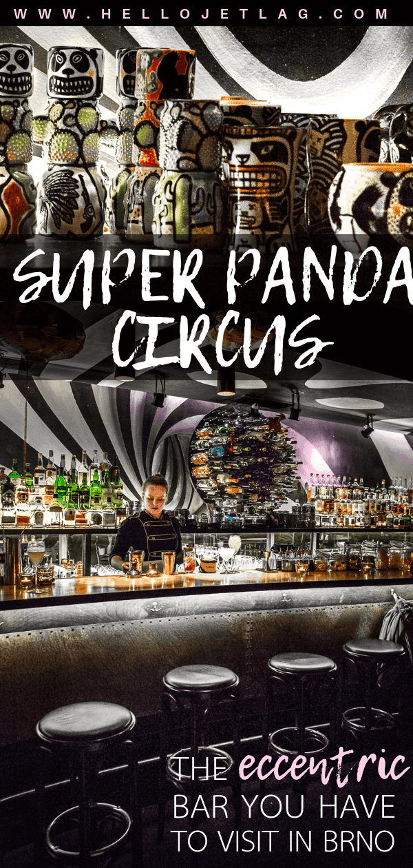 One of the most fun cocktails bars in Brno, Czech Republic. Super Panda Circus is a hidden speakeasy with a ton of surprises. Click to discover one of my favorite bars in the world.