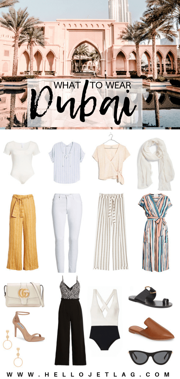 The Dubai Travel Guide // What to Wear in Dubai: Outfit Ideas, Fashion Tips and Advice for What to Pack