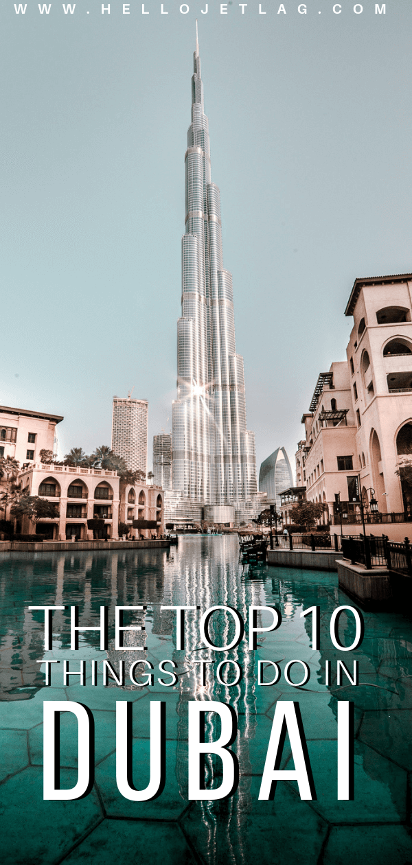 A list of the top 10 things to do and places to see in Dubai. From rooftop bars, to beaches, plus where to find the best views and more.