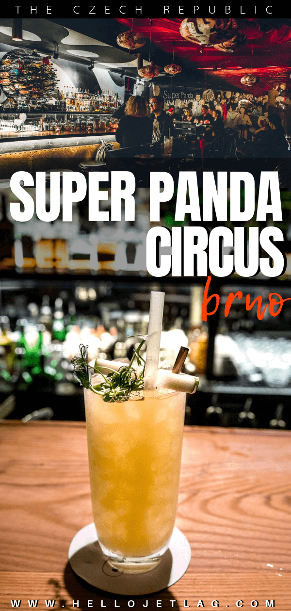 One of the most fun cocktails bars in Brno, Czechia. Super Panda Circus is a hidden speakeasy with a ton of surprises. Click to discover one of my favorite bars in the world.