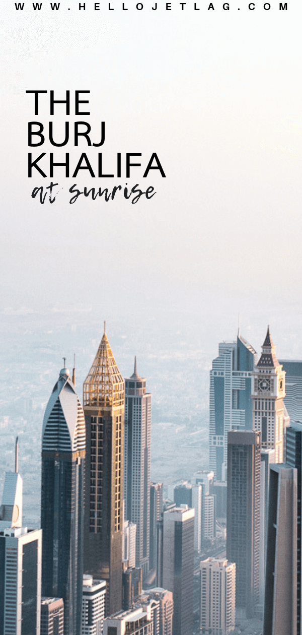 Discover what it's like on top of the tallest building in the world. Photos from The Burj Khalifa at The Top Experience in Dubai, tips for visiting, plus why you should consider booking a sunrise ticket!