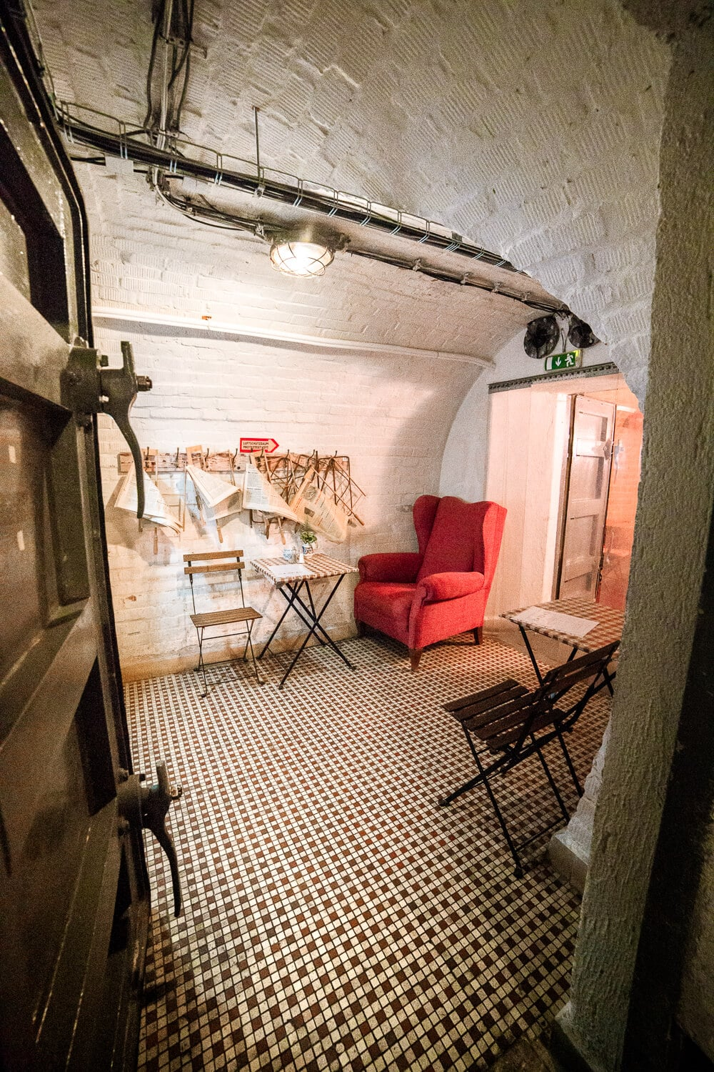 10-Z Bunker Hostel is a retired nuclear fallout shelter in Brno, Czech Republic. Tour the bunker, eat at the Soviet style Milk Bar and even spend the night in one of the most unique lodging experiences in the city! Keep reading for what to expect, photos and more..