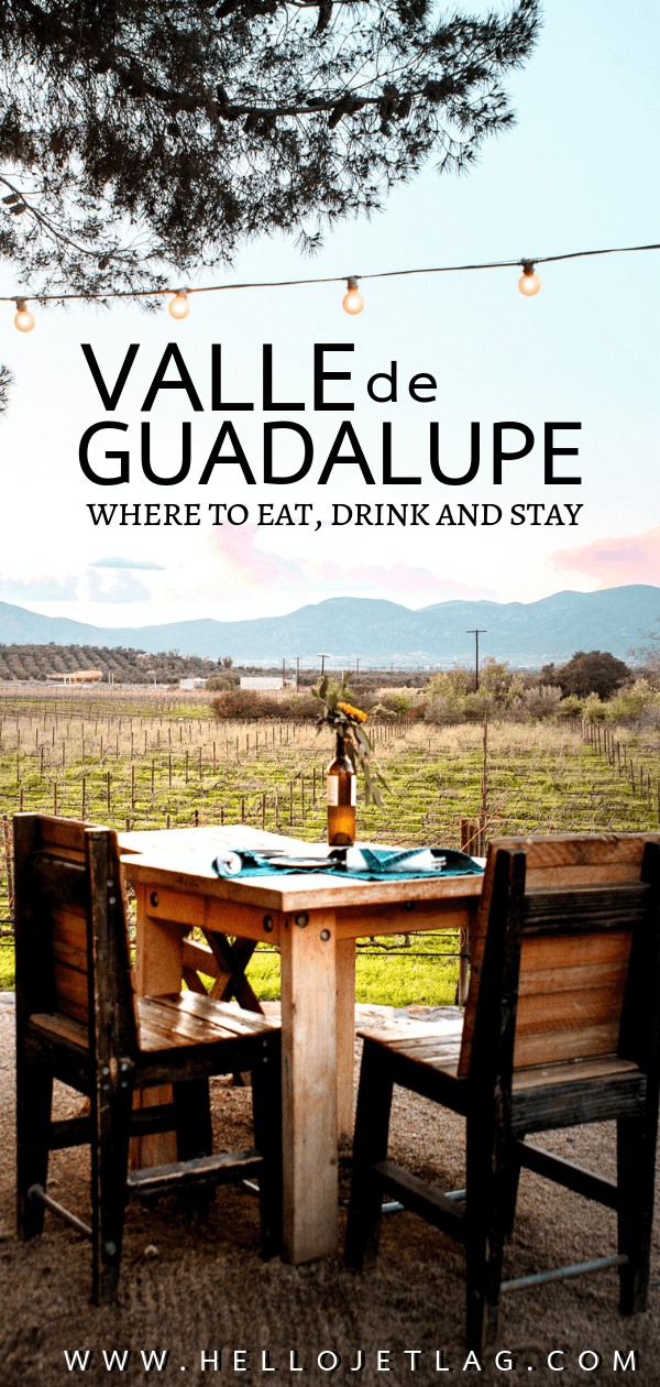 Valle de Guadalupe is an up and coming wine region located in Mexico's Guadalupe Valley. With unique wineries, restaurants and hotels Valle de Guadalupe is the perfect weekend getaway from San Diego, or a great day trip from from Ensenada. Keep reading to discover Valle de Guadalupe restaurants, which wineries to visit and where to stay in Baja California's trendy hidden gem.