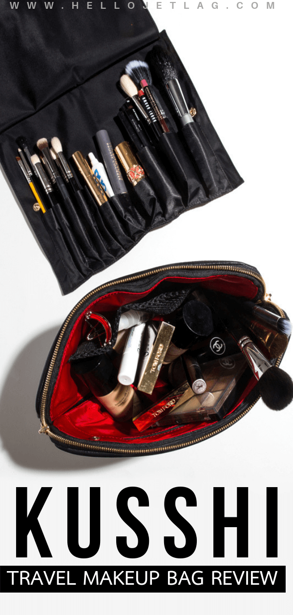 With their chic designs and well executed features, Kusshi has designed a game changing travel makeup bag. Machine washable and travel friendly, keep reading for a full review, photos and more.